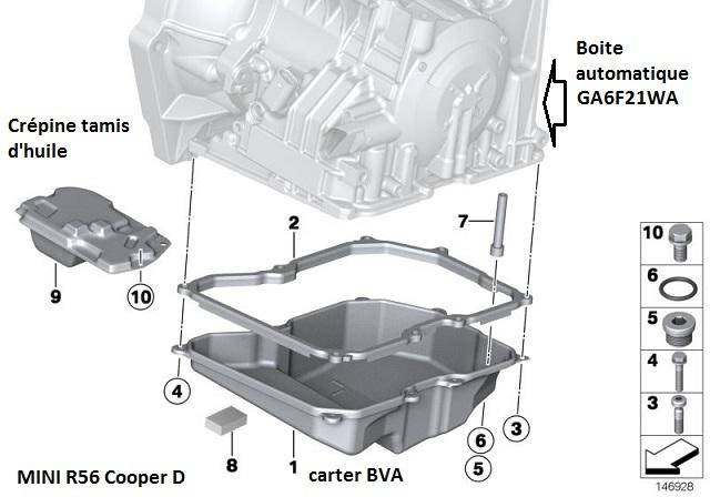 [ MINI Cooper 1.6 D Automatique an 2007 ] Arrêts moteurs aléatoires & Moteurs qui broute 24_bva11