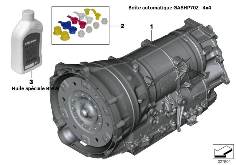 [ Bmw F07 535d GT x.drive an 2011 ] Boite auto en sécurité 24_bva14