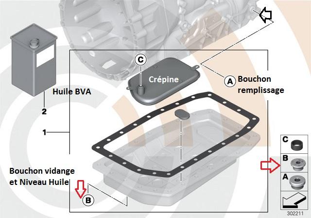 [Mini Cooper S 2005 170 Ch] Vidange et niveau huile BVA  24_min10