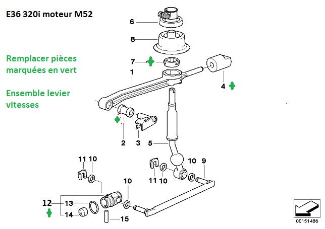 [ BMW e36 323i M52 an 1996 ] Grincement au niveau de l'embrayage/boite 25_e3610