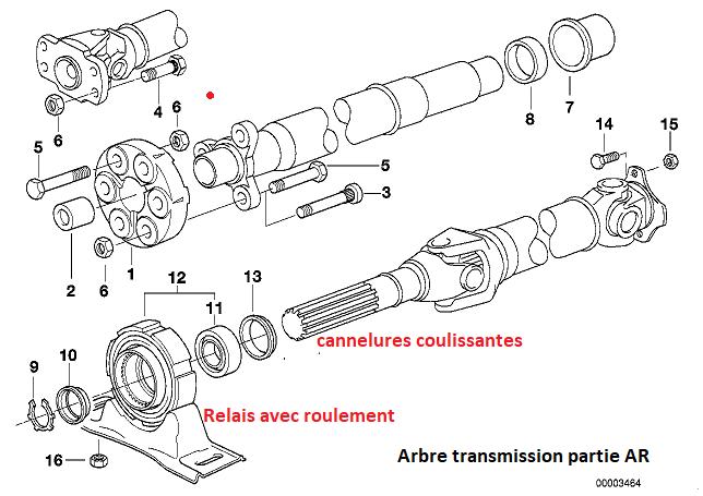 [ BMW E36 318tds M41 an 1998 ] problème arbre de transmission(Résolu) 26_02811