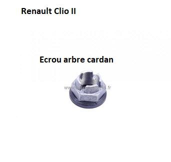 [ Renault Clio 2 1.4 16V an 2004 ] diagnostic bruit suite à changement roulements 31_ecr10