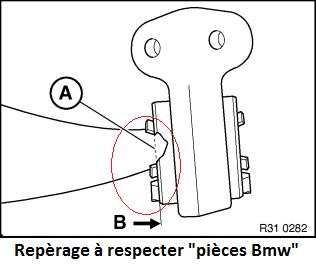 [Bmw E46 330d Touring Bva pack sport M.2 12/2002]Silentblocs triangles  31_rep10