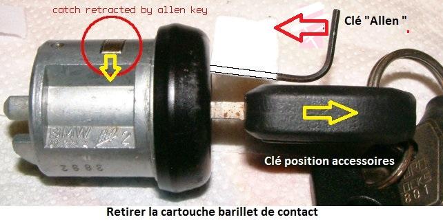 [ BMW E36 325 TDS an 1998 ] clef qui tourne dans le vide neiman 32_bar13