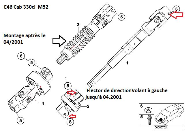 [ BMW e46 330ci cabrio an 2000 ] Tremblement direction insoluble.( Résolu) - Page 2 32_fec10