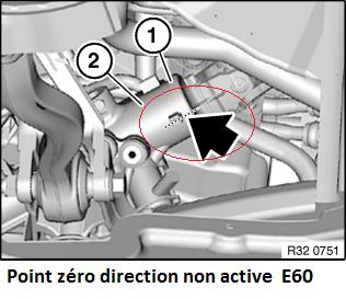 [ BMW E60 530d an 2004 ] Capteur angle de braquage 32_poi10