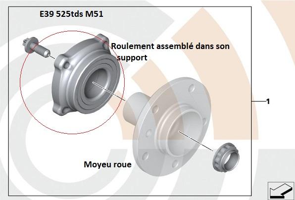 [ BMW e39 525 TDS an 1997 ] Voyant défaillance airbag + ESC (Résolu) 33_16910