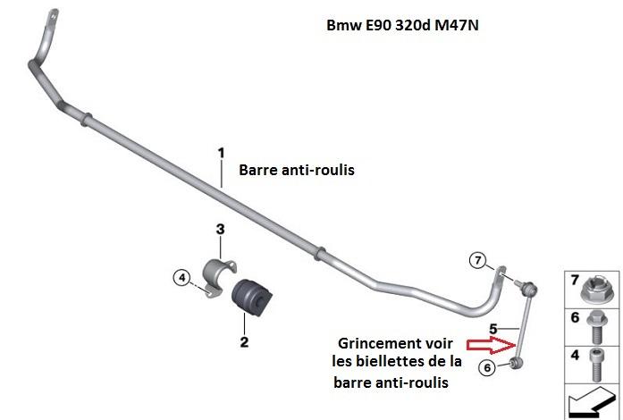 [ BMW E90 320d Pack M an 2009 ] Grincement train arrière (résolu) 33_e9010