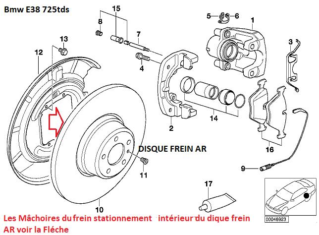 [ BMW E38 725TDS M51 BVA an 1997 ] Grince en roulant 34_05110