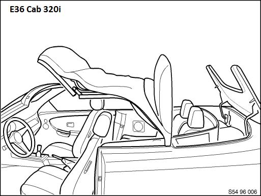 [résolu][ BMW e36 320i cabriolet an 1997 ] Problème de coffre de capote (résolu) 54_e3610