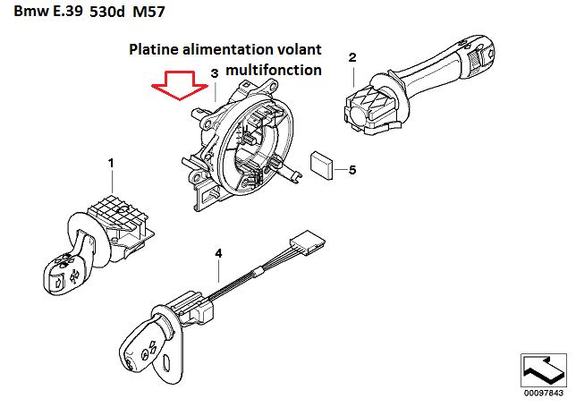 [ BMW E39 530d M57 an 2000 ] problèmes électriques 61_01110