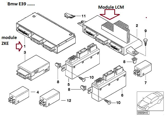 [ BMW E39 535i an 1999 ] voyant de tableau de bord ne vont plus   61_e3910