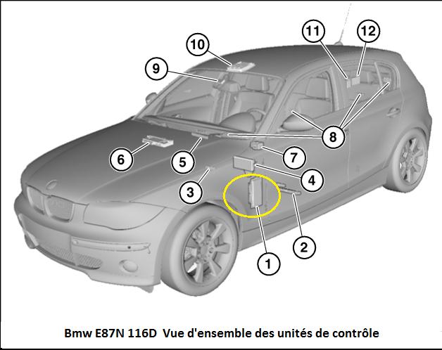 [ BMW E87 116d an 2010 ] problème électronique. 61_e8712