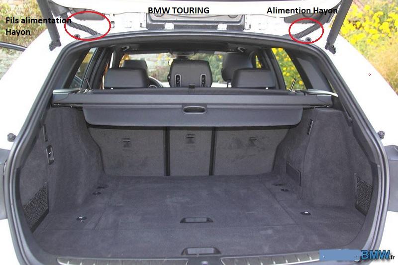 [ BMW E46 Touring 316i N46 an 2005 ] Essuie glace arrière et liquide inopérant  61_ess12