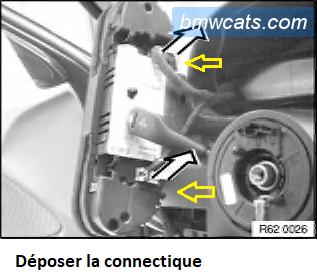 [ BMW E34 520i an 1991 ] Démontage bloc compteur 62_e3410