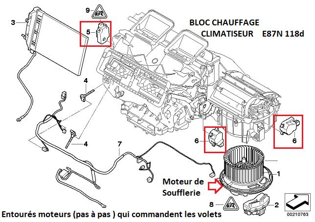 [ Bmw E87N 118d n47 an 2008 ] Climatisation non fonctionnelle 64_14510