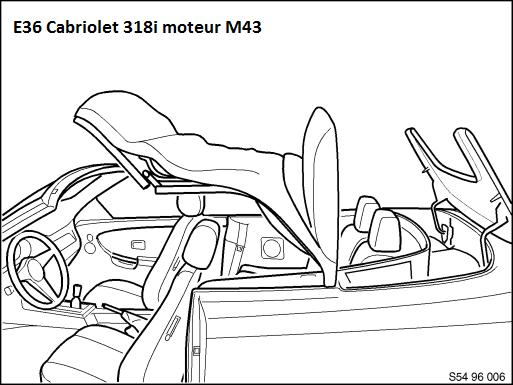 (Abandonné )[ Bmw E36 318i Cabriolet an 1997 ] Problème capote électrique 64_e3610