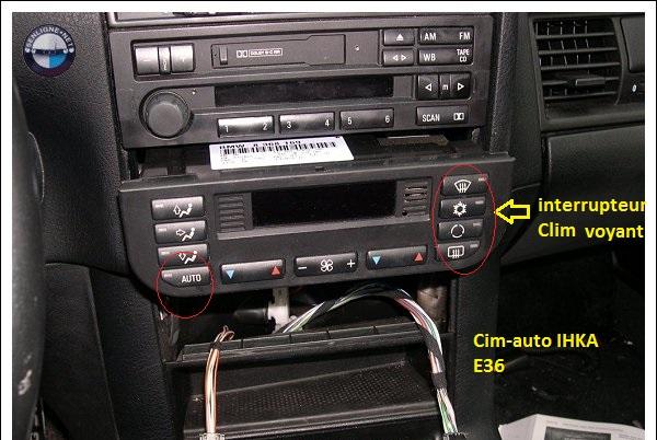 [BMW e46 318 ci an 2000] commande clim chauffage ne s'allume plus( Résolu ) 64_e3613