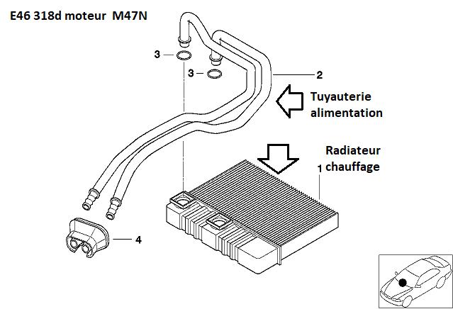 [ Bmw E46 318d M47N an 2005 ] changer le joint de cache culbuteur 64_e4612