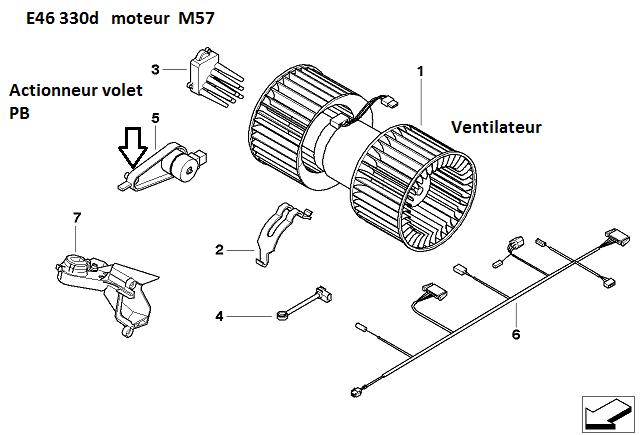 [ bmw e46 330D an 2000 ] Plus de ventilation pare-brise  64_piz10