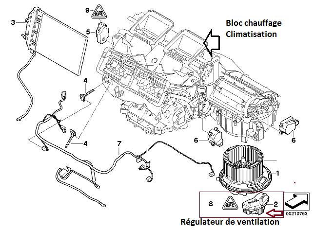 [ BMW E87 118D M47N2 an 2005 ] Ventilation air intérieur en panne (résolu) 64_szo10