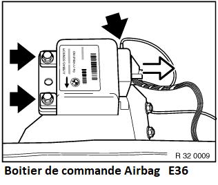 (Abandonné ) [ Bmw E36 325 tds M51 an 1994 ] voyant airbag 65_e3612