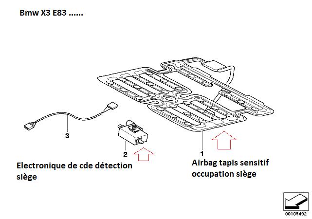 [ BMW E83 X3 an 2008 ] Voyant airbag s'allume 65_x3_10