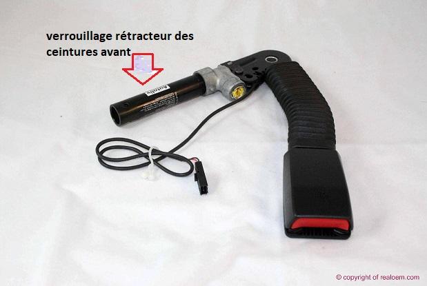 [ BMW E46 318i an 2002 ] Voyant ceinture clignote rouge 72_cie10