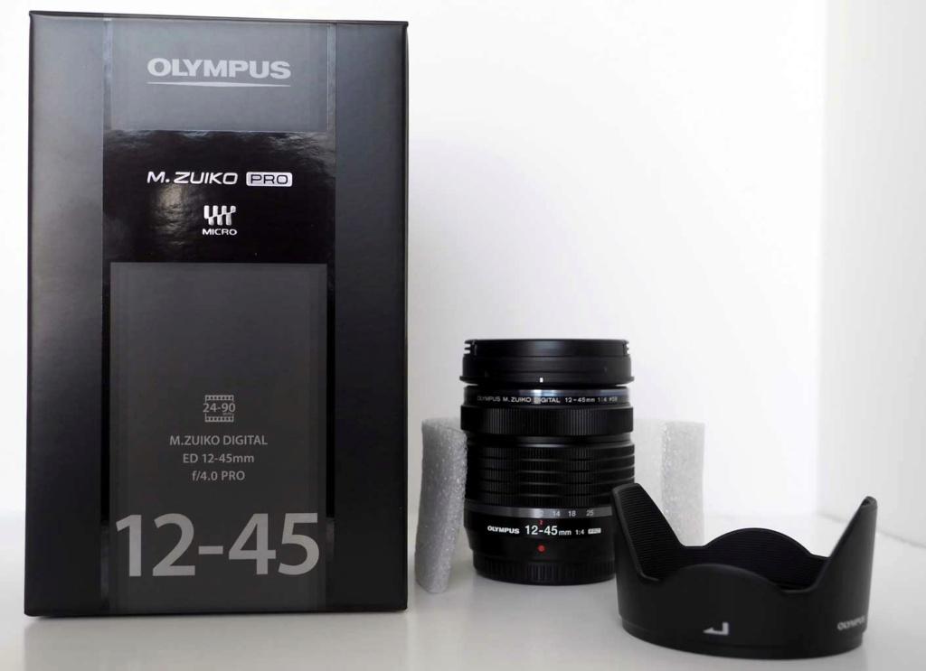 VENDU Olympus 12-45 neuf P6101112