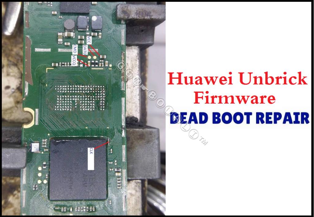 [حصري] Huawei Unbrick Firmware dead boot repair Emmc210