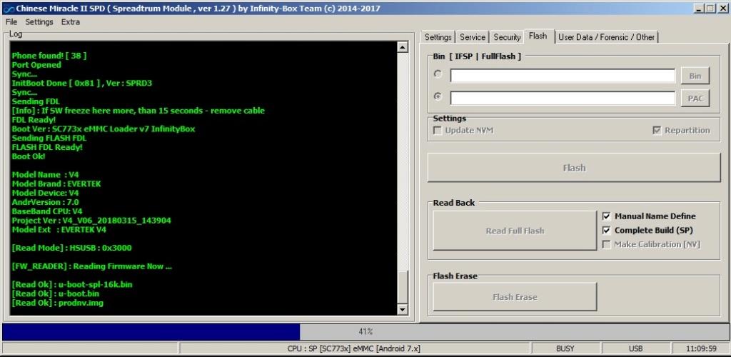 [فلاشات] firmware  Evertek v4 - SC7731C Red_ro10