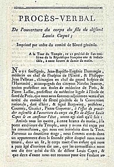 Causes de la mort des enfants de Marie-Antoinette et Louis XVI 071cda10