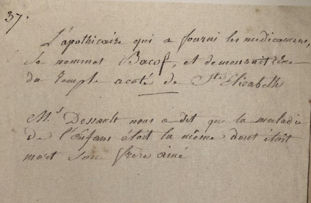 Causes de la mort des enfants de Marie-Antoinette et Louis XVI 08bbba10