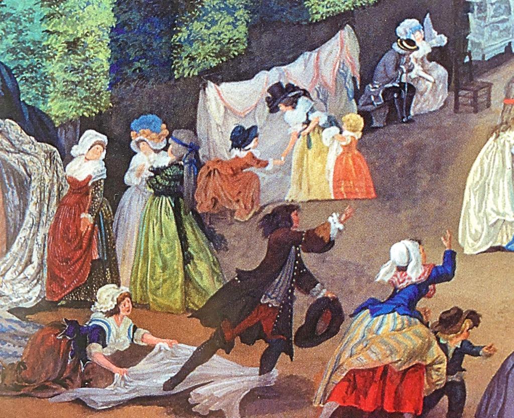 Une fête à St Cloud en 1788 11b38410