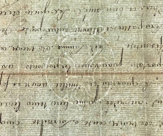 Correspondance de Marie-Antoinette : Le filigrane du papier utilisé par la reine  1d991210