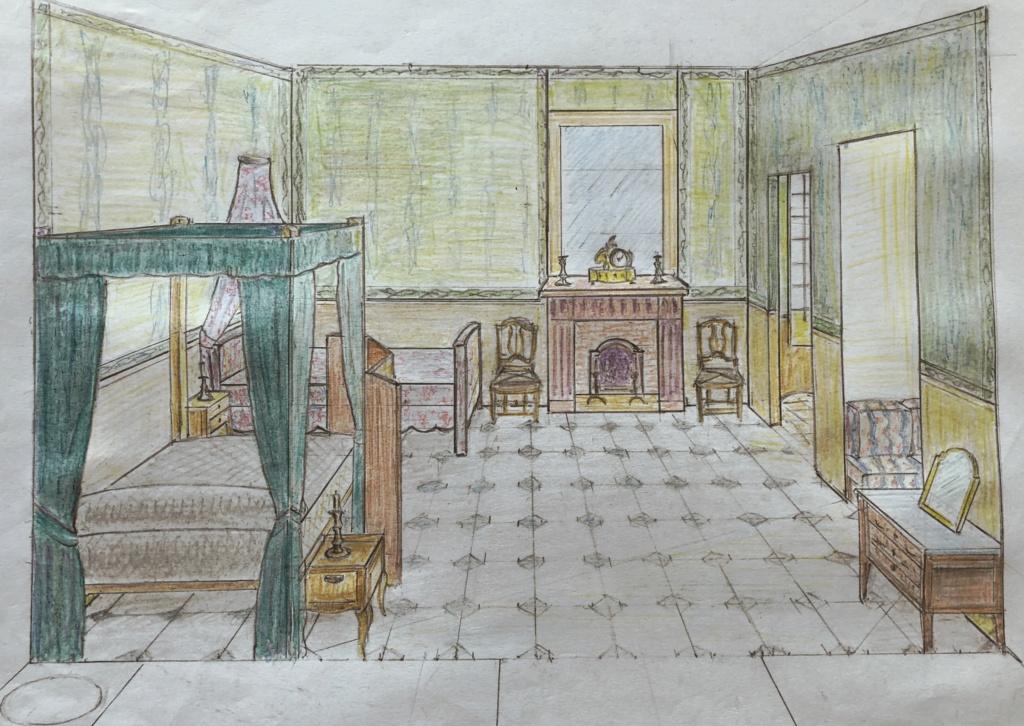 La famille royale à la prison du Temple : plans et aménagements - Page 6 24da5810