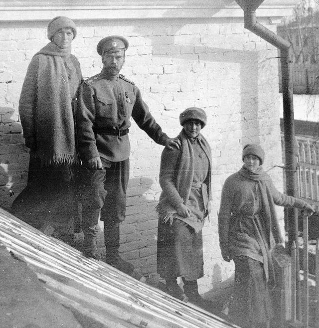 Il y a 100 ans, abdication du tsar Nicolas II 34c83410