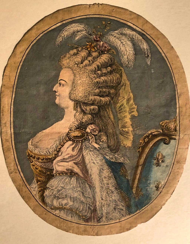 Portraits de Marie-Antoinette : les gravures, estampes, mezzotintes, aquatintes etc.  - Page 3 44605a10