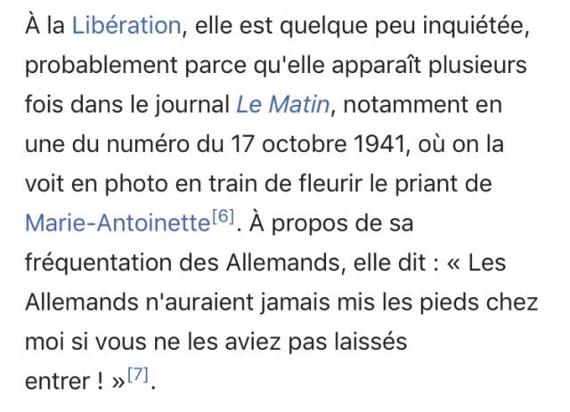 Madame Capet ou Cécile Sorel dans le métro en 1944 44b48c10