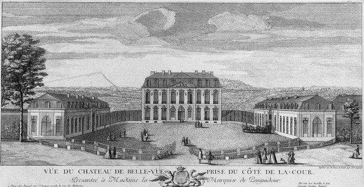 Château de Bellevue à Meudon 63fee910
