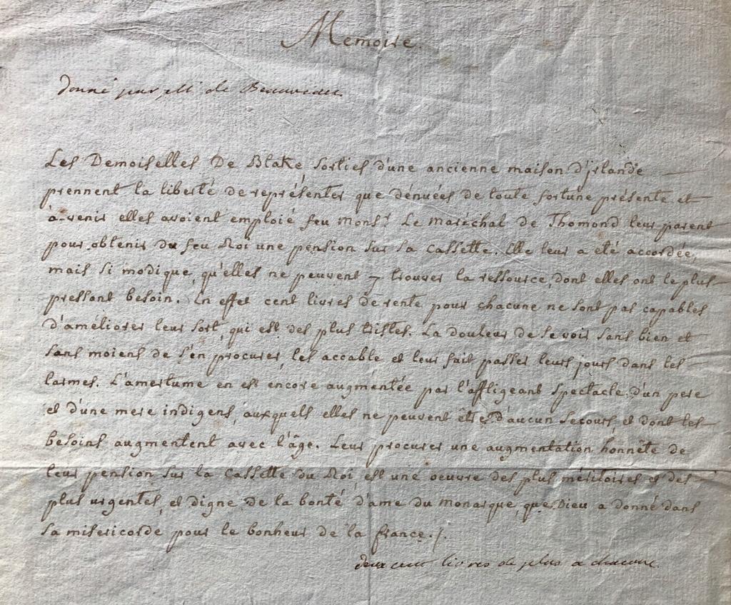 Lettres autographes et écrits de Louis XVI 868ca510