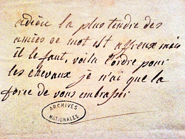 Lettre inédite de la duchesse de Polignac à Axel de Fersen  - Page 2 8935d610