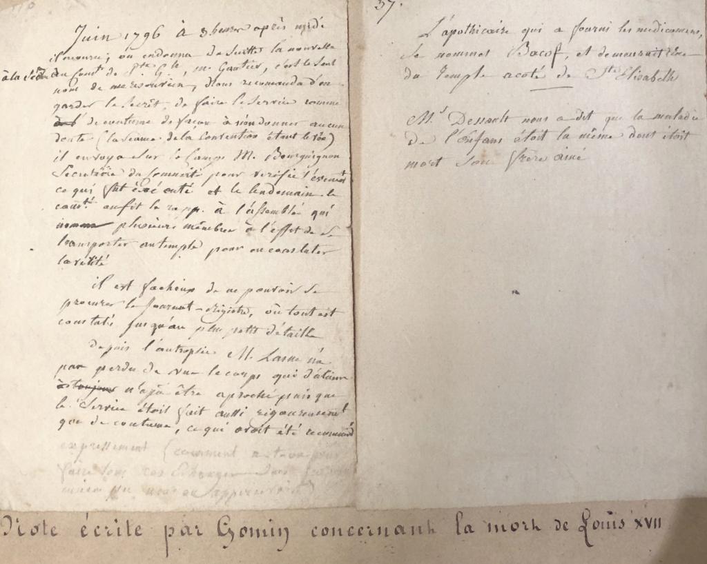 Causes de la mort des enfants de Marie-Antoinette et Louis XVI 8a479e10