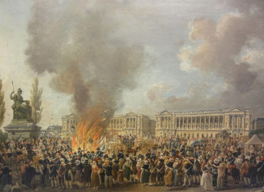 Ventes aux enchères des effets et mobiliers des Tuileries après les pillages du 10 août 1792 Adce8f10