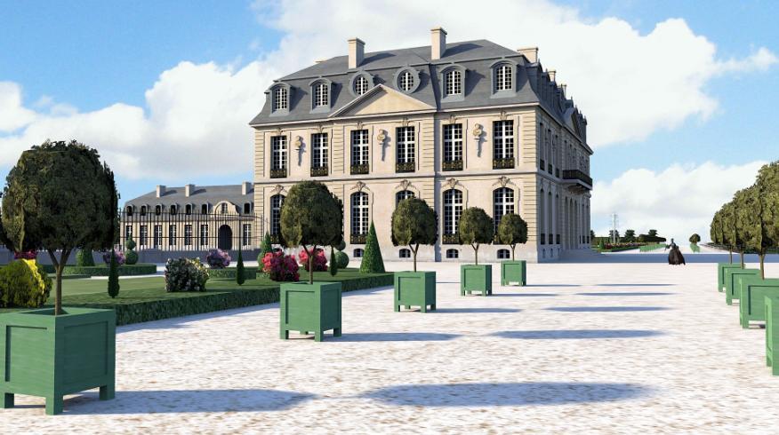 Château de Bellevue à Meudon Ea191b10