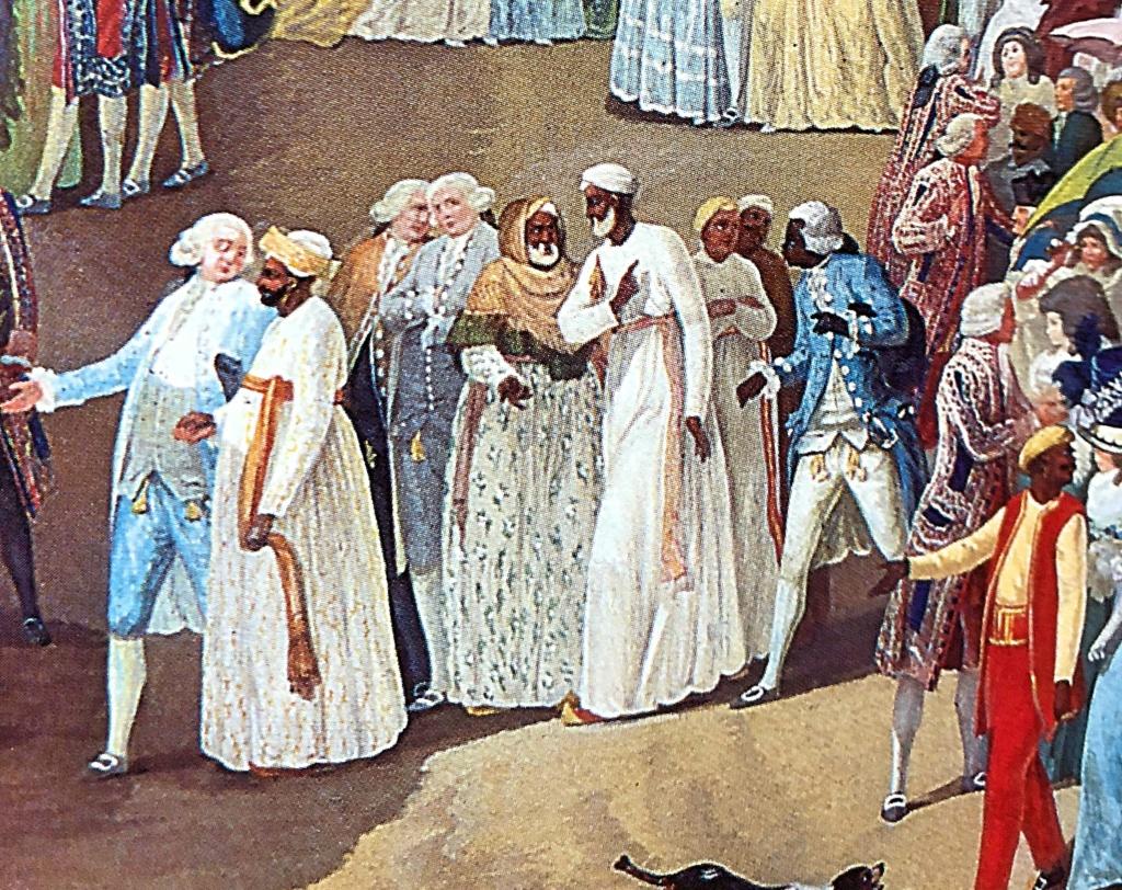 Une fête à St Cloud en 1788 Ed436910
