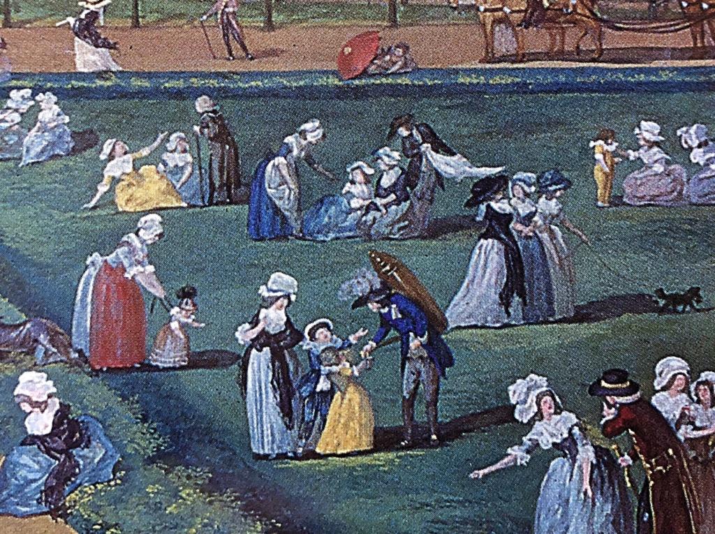 Une fête à St Cloud en 1788 Fee85910