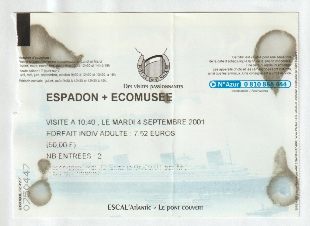 [ Les musées en rapport avec la Marine ] Sous-Marin Espadon (Saint-Nazaire). - Page 4 Bretag10