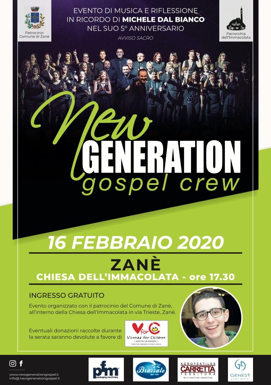 Concerto gospel con New Generation Gospel Crew a Zanè (VI), domenica 16 febbraio Zane10