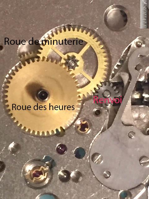 Vostok 2416B qui ne tourne plus.  Minute10